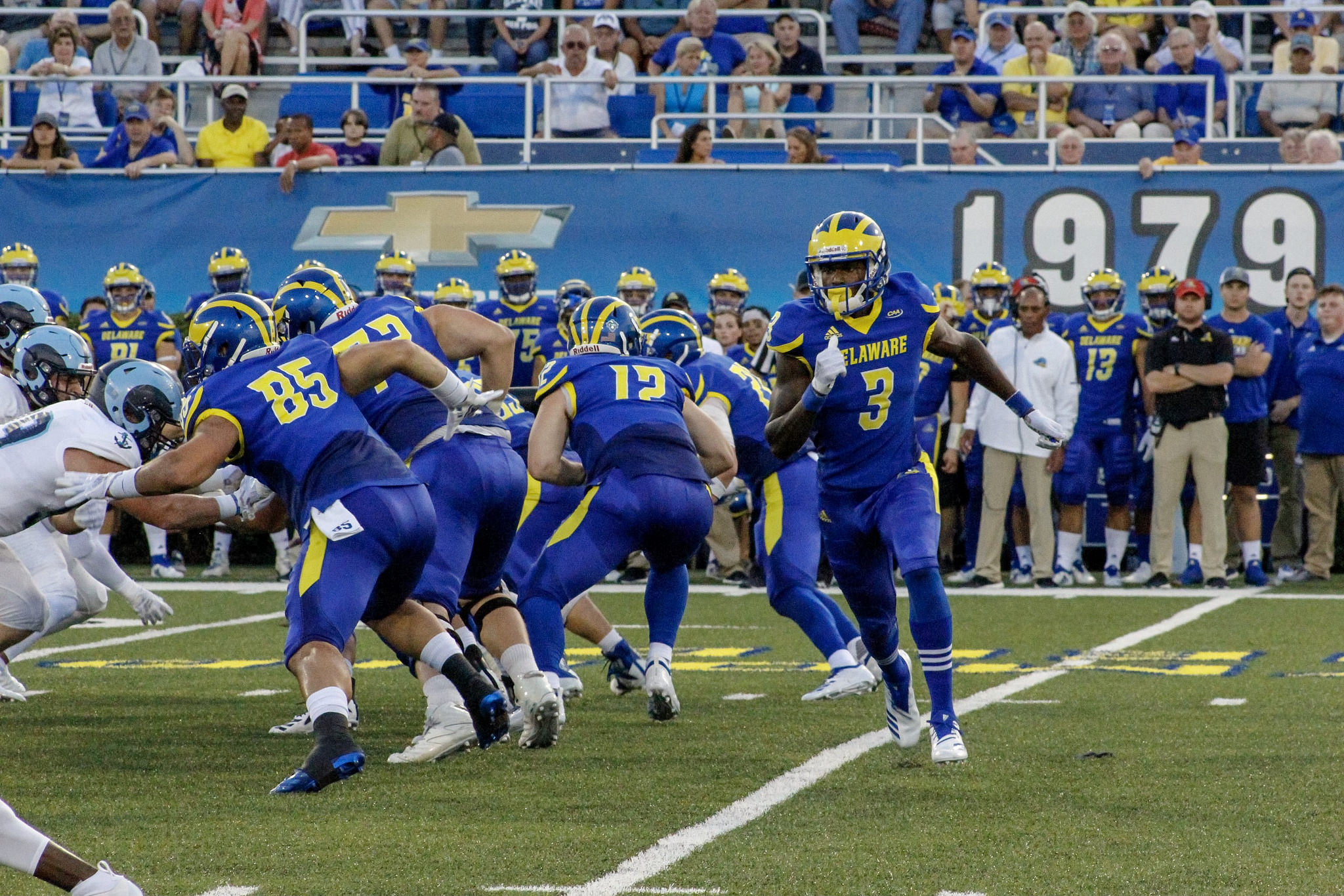 buy popular 0a07b e1069 Delaware football falls to Rhode Island in home opener – The ...